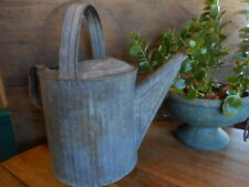 Galvanized Watering Can Farmhouse Vintage Metal  Flower Garden Rustic Shabby