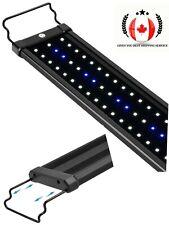 Aquarium LED Light Fish Tank Light w/ Extendable Brackets 36 to 48 Inch 25 Watt