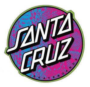 "Santa Cruz Scales dot sticker 4"" FREE J&J'S STICKER"