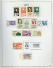 MEXICO Minkus Specialized Album Page Lot #51 - SEE SCAN - $$$