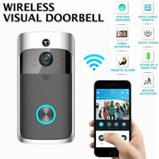 Wireless Visual WiFi Doorbell Smart IR Intercom Video Home Security Night Vision