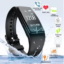 Etanche Bluetooth Montre Smart Watch Pédomètre Bracelet Sport Pr iPhone Android