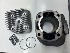 Malossi 318562 Zylinder mit Kopf ohne Kolben 50cc AC liegend
