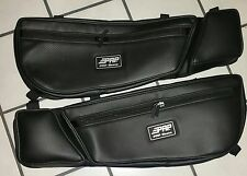 CAN AM MAVERICK X3 DOOR BAGS WITH KNEE PAD PRP BLACK