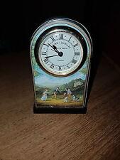 VINTAGE ROGER LASCELLES OF LONDON QUARTZ ALARM CLOCK/ CHILDREN PLAYING #2