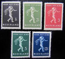 NED NVPH 327 - 331 Kinderzegels 1939 serie prachtig ongebruikt CW 13,50