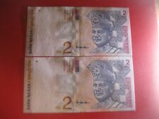 RM2 AAH sign 10th series - Pair running nos DS 9272143 - 44 (AU/UNC) #4
