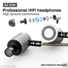KZ-ED4 Subwoofer HD STEREO HIFI Earphone Headset Monitoring Ear Headphones