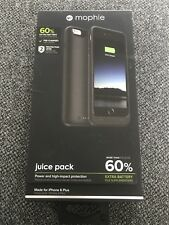 mophie juice pack Compact Battery Case for iPhone 6 Plus / 6S Plus - Black
