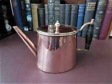 Mid 19th c Copper Teapot - William Soutter & Sons  1850 +