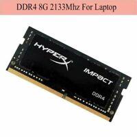 Pour Kingston Hyperx Impact 8GB DDR4 2133 2400 2666 3200MHz 1.2V Laptop RAM FR
