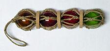 4 FISCHERKUGELN 5 cm mit Korkscheiben SONDERPREIS