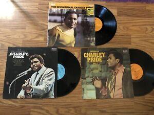 Charley Pride Record Lot