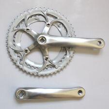 NEU! Fahrrad Kettenrad Garnitur Kurbel 52-42 Zähne Rennrad KRG Silber