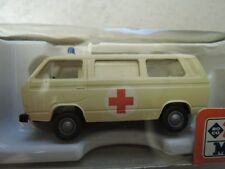 Roco minitanks 456 VW Typ 2 Ambulance DRK in OVP Sammlung (3)