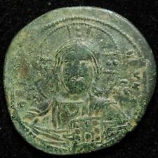 Byzantine Empire, Anonymous AE follis class A3 Constantinople c.1025AD - SB 1818