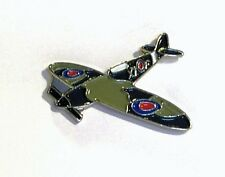 METALLO SMALTO SPILLA BADGE Spitfire della RAF FIGHTER AEREO Battle of Britain