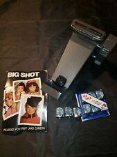 Cámara Polaroid Big Shot retrato de tierras Andy Warhol 9 Cubos De Flash
