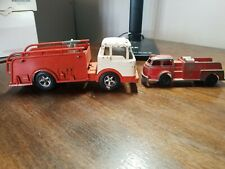 Vintage Hubley Fire Truck Lot
