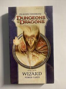 Dungeons & Dragons Player´s Handbook WIZARD Power Cards D&D *OVP*