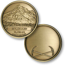 Mt Hood Oregon elevation coin Mountain climber climbing gift
