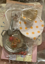 Re-ment Miniature Megahouse Dollhouse Dinning Meat Pie With Rice Pot  Drink New