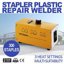 Tools Hot Stapler Thermo Plastic Repair Set, Kit + 300 Staples NEW