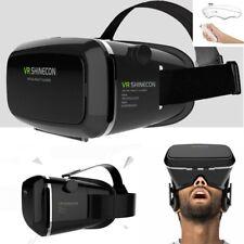 3D Auriculares Gafas de realidad virtual VR Gafas + control Remoto Para Android Teléfono Inteligente