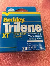 F8 Berkley Trilene XT super strong monofilament fishing line 20 pd lb 110 yd