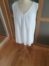 BNWT Ladies white top size 14