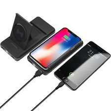 10000mAh  Wireless Power Bank charger with LED Digital Display and Stand design