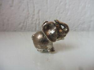 Schöne ,alte Silberfigur, Elefant , 835 Silber ,massive Silber-Figur , Anhänger