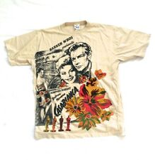 rare vintage T-shirt with Casablanca movie printed on 90's size xl