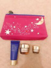 Estee lauder skincare gift set:cleanser face eye cream pouch travel sample size