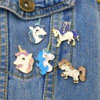 Delicate Horse Wing Deer Brooch Button Pins Jacket Pin Badge Jewelry BDAUyu