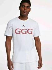 3beac2e0 NIKE JORDAN GGG TRIPLE G GENNADY GOLOVKIN LIMITED SHIRT WHITE AQ8818 100 sz  2XL