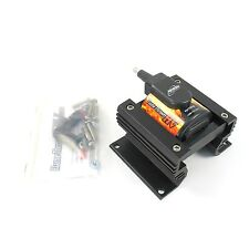 Pertronix Ignition Coil 44011; Flame-Thrower III Black 45,000V Canister Socket