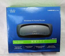 Linksys Cisco Wireless-N Home Router WRT120N 10/100 150Mbps Basic 4 LAN port
