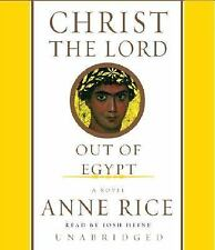 CHRIST THE LORD OUT OF EGYPT by Anne Rice CD Audiobook Unabridged Ex-Library