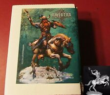 Nocturna HL12 54mm The Invader (1) Miniature Mounted Barbarian Warrior Hero Lord