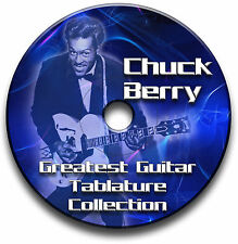 MANDRIN BERRY ROCK'N'ROLL GUITARE TABLATURE LIVRE MUSICAL CD DU LOGICIEL