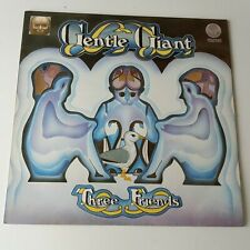 Gentle Giant - Three Friends - Vinyl LP UK 1973 Spaceship Press EX/EX+