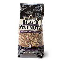 24 oz. Bag, HAMMONS PREMIUM BLACK WALNUTS, FANCY QUALITY LARGE PIECES