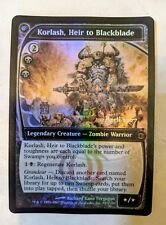 4x MTG Korlash, Heir to Blackblade - Foil - Prerelease Promo Magic The Gathering