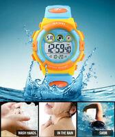 SKMEI Fashion Kids Sports Wrist Watch Digital Boys Girls Alarm LED Watch 1451 C