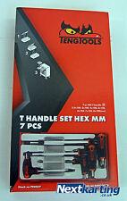 TENG TOOLS T-HANDLE HEX ALLEN KEY SET - TOOL BOX - NEXTKARTING