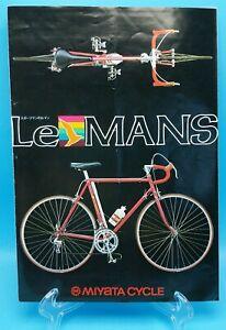 MIYATA BICYCLES : LE MANS 1970's Sales Brochure and spec sheet lemans cycles