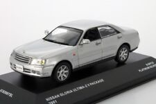 NISSAN GLORIA ULTIMA Z V PACKAGE PLATINUM SILVER 2001 JCOLLECTION JC02007SL 1/43