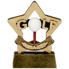 Golf Trophy.Prefect Schools Awards*Free Engraving*
