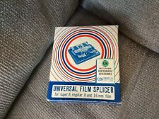 Universal Film Splicer For Super 8 Regular 8 And 16mm